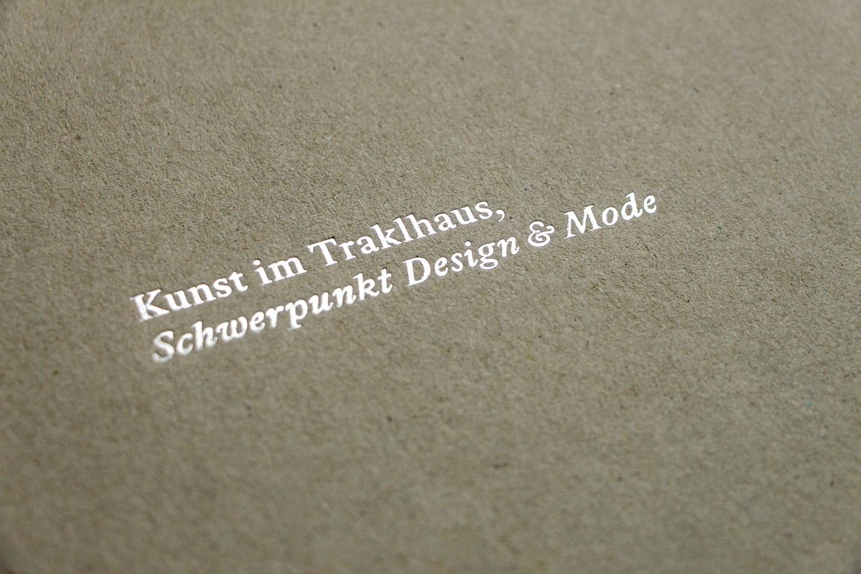 nachhaltiges design salzburg ausstellungen Publikation Kunst im Traklhaus