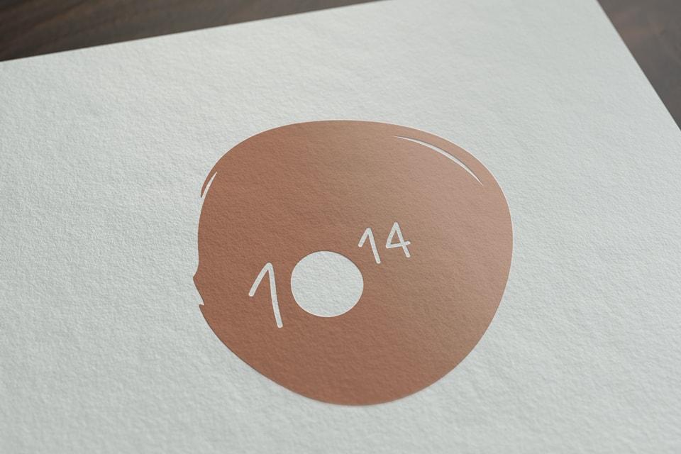 nachhaltiges grafik design salzburg 10hoch14 logo