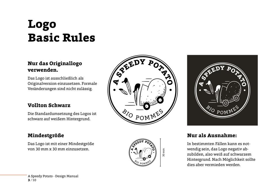 nachhaltiges grafik design salzburg a speedy potato logo design