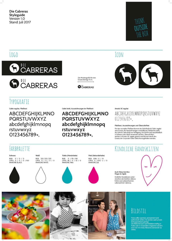 nachhaltiges grafik design salzburg Cabreras Styleguide
