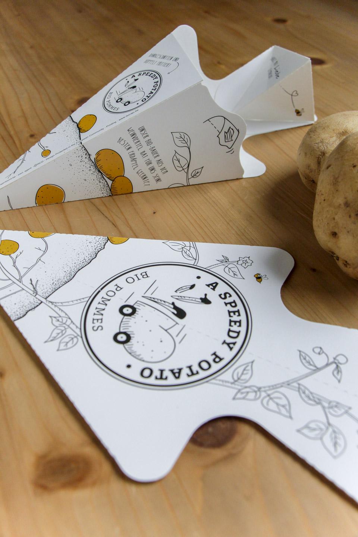 nachhaltiges grafik design salzburg a speedy potato logo redesign