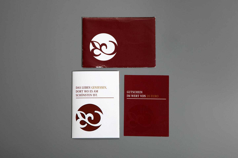 nachhaltiges grafik design salzburg schlosscafe folder