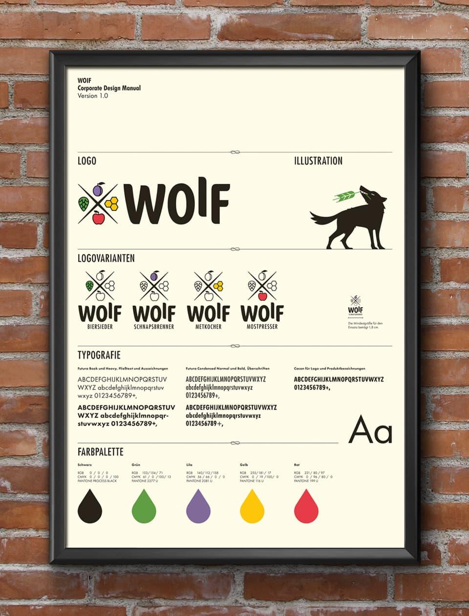 nachhaltiges grafik design salzburg woif CD-manual