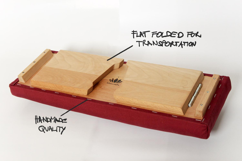 nachhaltiges moebel design salzburg lotuscrafts meditationsbank dharma